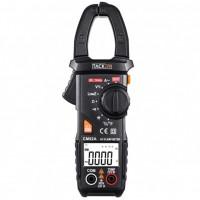Pinza Amperimétrica Tacklife CM02A multímetro, Capacimetro, NCV hasta 600 Amp