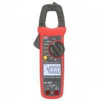 Pinza Amperimétrica Uni-t Ut204+ multímetro, Capacimetro, NCV hasta 600 Amp
